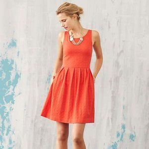 Deletta Anthropologie Torchon Textured Dress